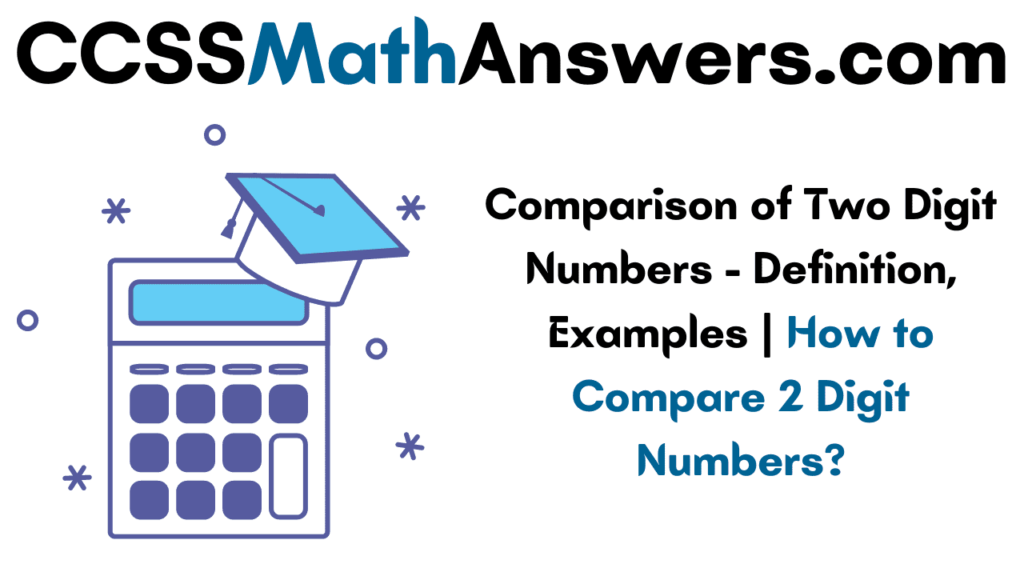 Comparison of Two Digit Numbers