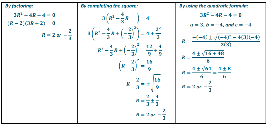Eureka Math Algebra 1 Module 4 Lesson 14 Exit Ticket Answer Key 1