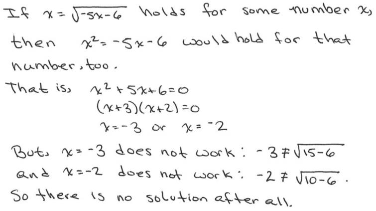 Eureka Math Algebra 2 Module 1 End of Module Assessment Answer Key 16