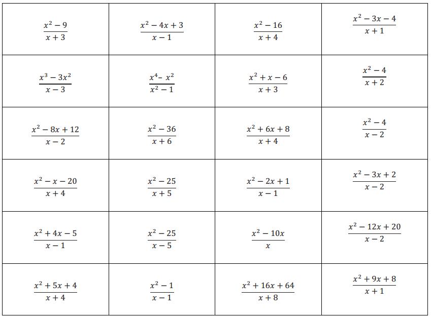 Eureka Math Algebra 2 Module 1 Lesson 18 Mental Math Exercise Answer Key 11