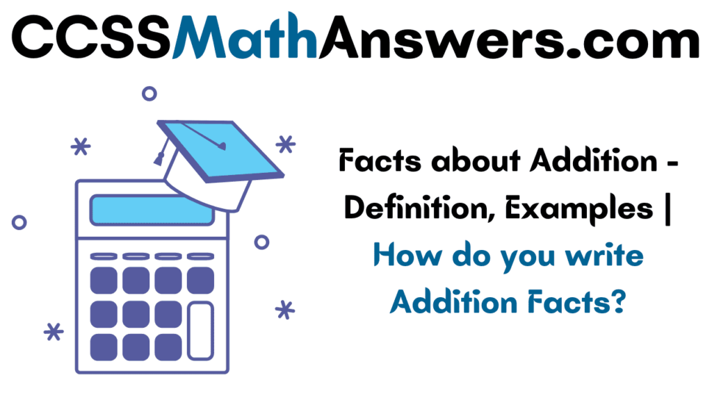 Facts about Addition