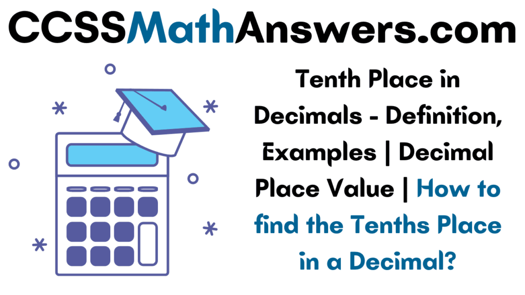 Tenths Place in Decimals