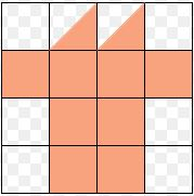 area using square paper example1