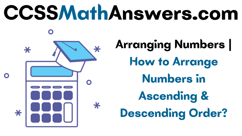 Arranging Numbers