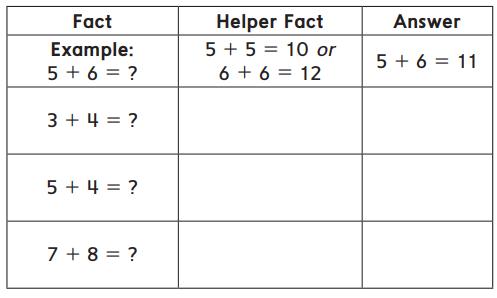 Everyday Math Grade 1 Home Link 6.4 Answer Key 1