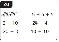 Everyday Math Grade 1 Home Link 7.4 Answer Key 3