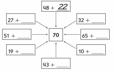 Everyday Math Grade 2 Home Link 7.1 Answer Key 1