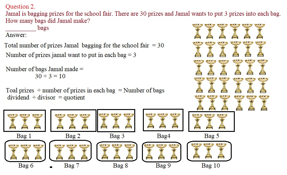Everyday-Math-Grade-3-Home-Link-1.9-Answer-Key-Introducing-Division-Question-2