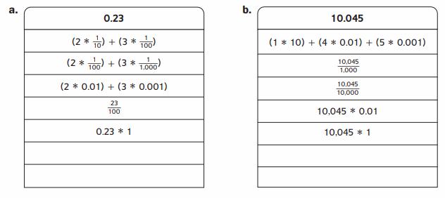 Everyday Math Grade 6 Home Link 3.1 Answer Key 700