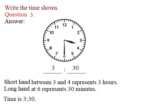 Everyday-Mathematics-3rd-Grade-Answer-Key-Unit-1-Math-Tools,-Time,-and-Multiplication-Everyday-Math-Grade-3-Home-Link-1.3-Answer-Key-Telling-Time-Question-3