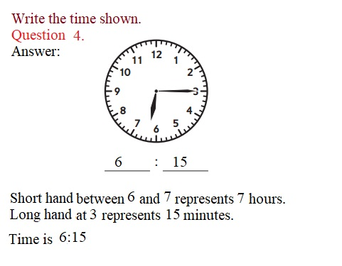 Everyday-Mathematics-3rd-Grade-Answer-Key-Unit-1-Math-Tools,-Time,-and-Multiplication-Everyday-Math-Grade-3-Home-Link-1.3-Answer-Key-Telling-Time-Question-4