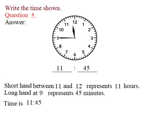 Everyday-Mathematics-3rd-Grade-Answer-Key-Unit-1-Math-Tools,-Time,-and-Multiplication-Everyday-Math-Grade-3-Home-Link-1.3-Answer-Key-Telling-Time-Question-5