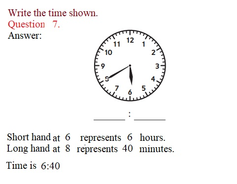 Everyday-Mathematics-3rd-Grade-Answer-Key-Unit-1-Math-Tools,-Time,-and-Multiplication-Everyday-Math-Grade-3-Home-Link-1.3-Answer-Key-Telling-Time-Question-7