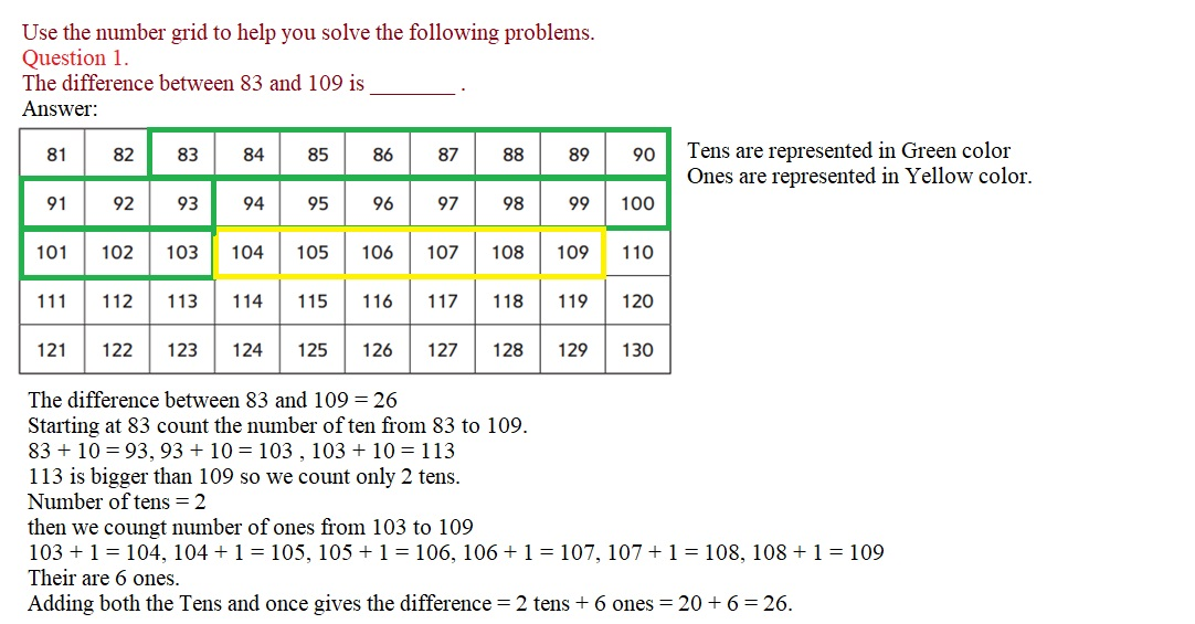 Everyday-Mathematics-3rd-Grade-Answer-Key-Unit-1-Math-Tools,-Time,-and-Multiplication-Everyday-Mathematics-Grade-3-Home-Link-1.1-Answers-Question-1