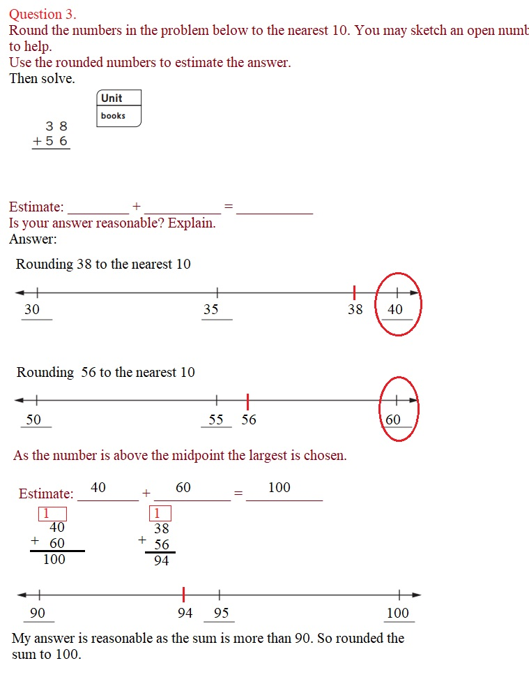 Everyday-Mathematics-3rd-Grade-Answer-Key-Unit-1-Math-Tools,-Time,-and-Multiplication-Everyday-Mathematics-Grade-3-Home-Link-1.4-Answers-Rounding-Numbers-Question-3