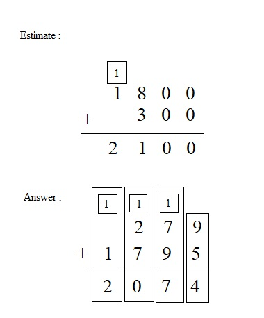 Everyday-Mathematics-4th-Grade-Answer-Key-Unit-1-Place-Value-Multidigit-Addition-and-Subtraction-Everyday-Math-Grade-4-Home-Link-1.7-Answer-Key-U.S.-Traditional-Addition-Question-5