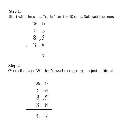 Everyday-Mathematics-4th-Grade-Answer-Key-Unit-1-Place-Value-Multidigit-Addition-and-Subtraction-Everyday-Math-Grade-4-Home-Link-1.9-Answer-Key-U.S.-Traditional-Subtraction-Question-1
