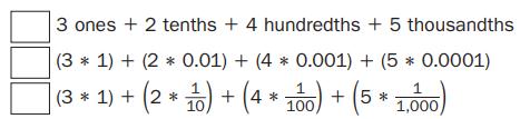 Everyday Mathematics Grade 5 Home Link 4.7 Answers 3