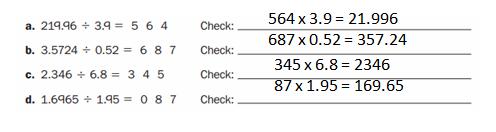 Everyday-Mathematics-Grade-6-Answer-Key-Chapter-3-Decimal Computation and Percents-7