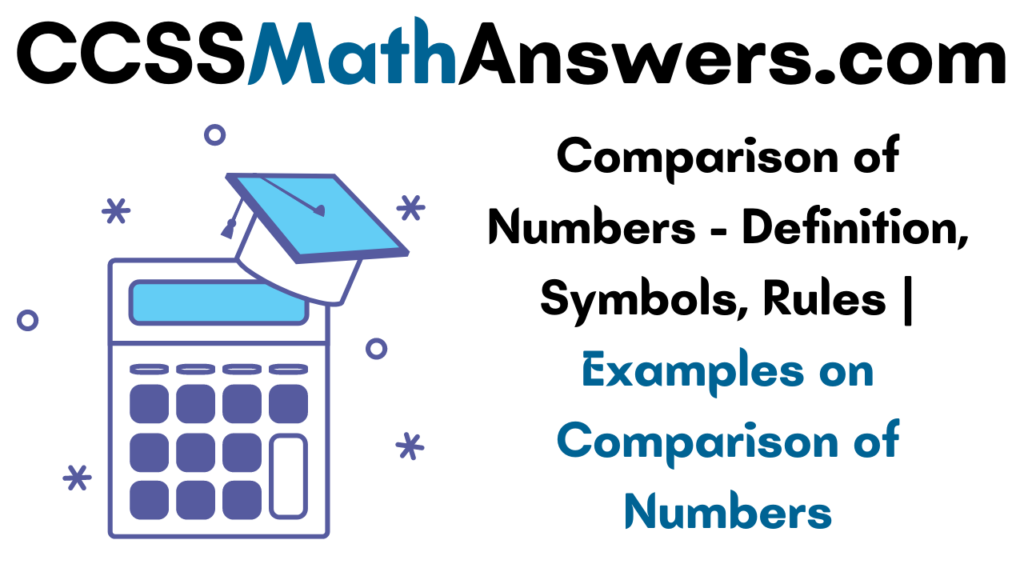 Examples on Comparison of Numbers
