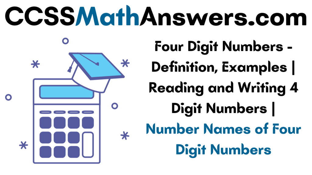 Four Digit Numbers