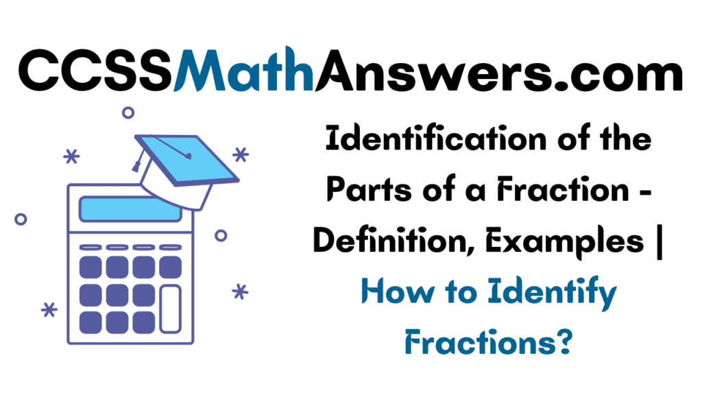 Identification of the Parts of a Fraction