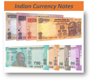 Indian Rupees Notes
