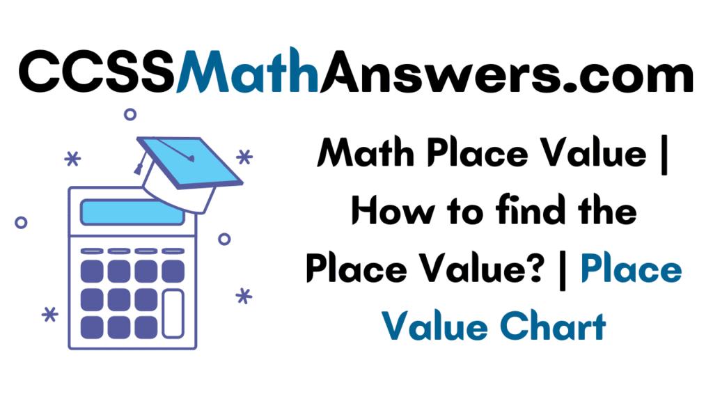 Math Place Value