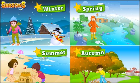 Seasons in a year