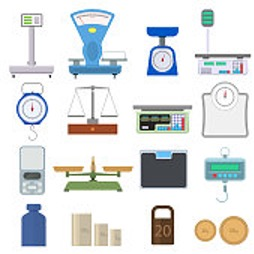 Tools used for measuring mass
