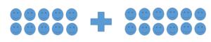 adding 2 - digit number images