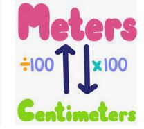 meters to centimeters conversion