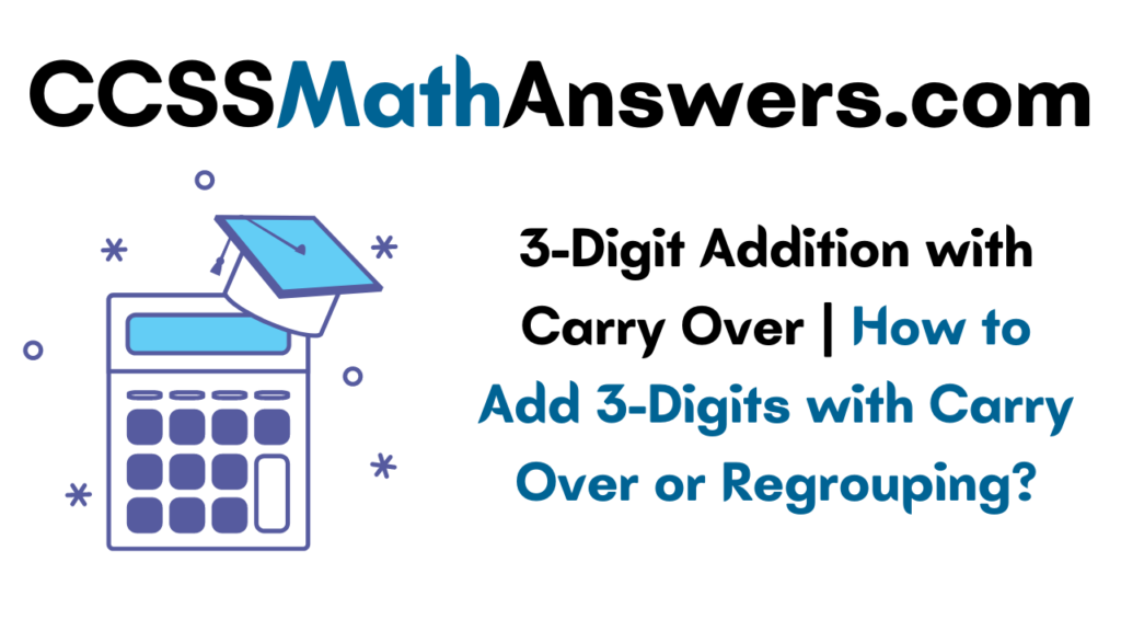 3-Digit Addition with Carry Over