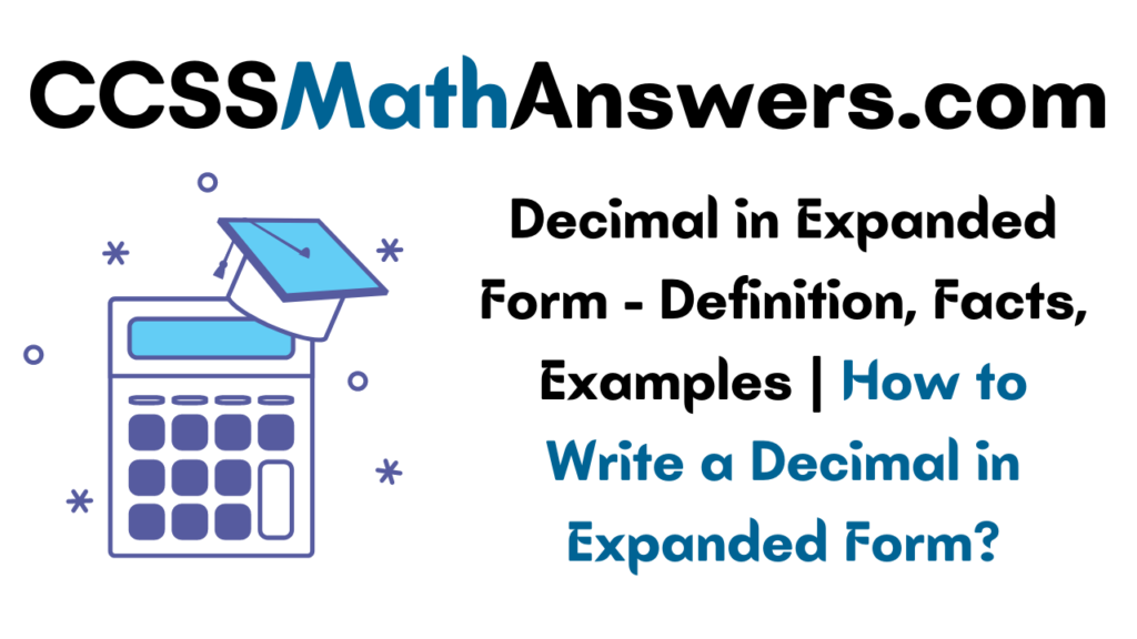 Decimal in Expanded Form