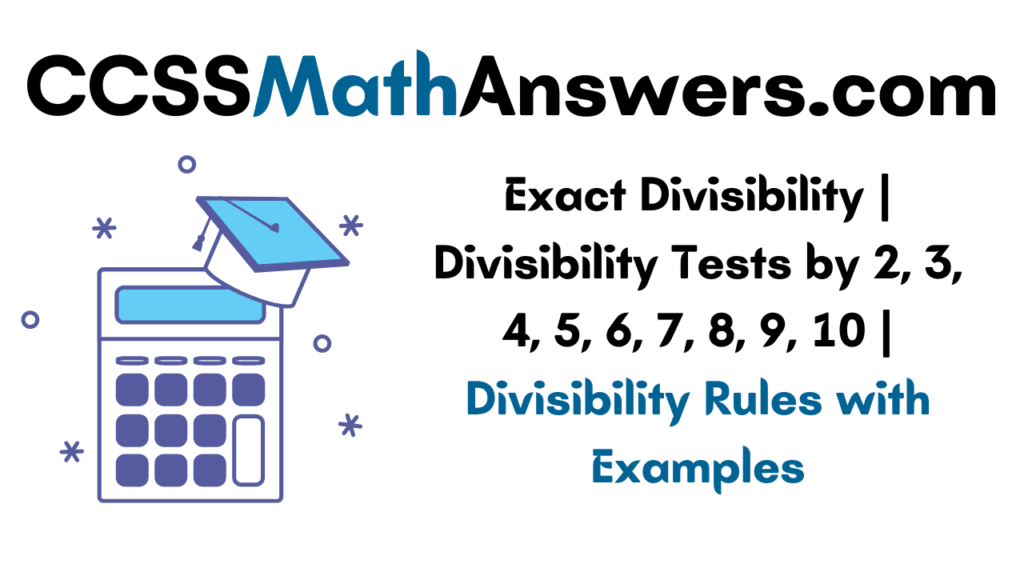 Exact Divisibility