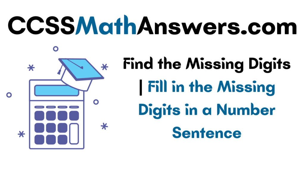 Find the Missing Digits