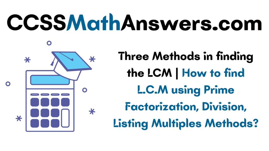 Method of LCM