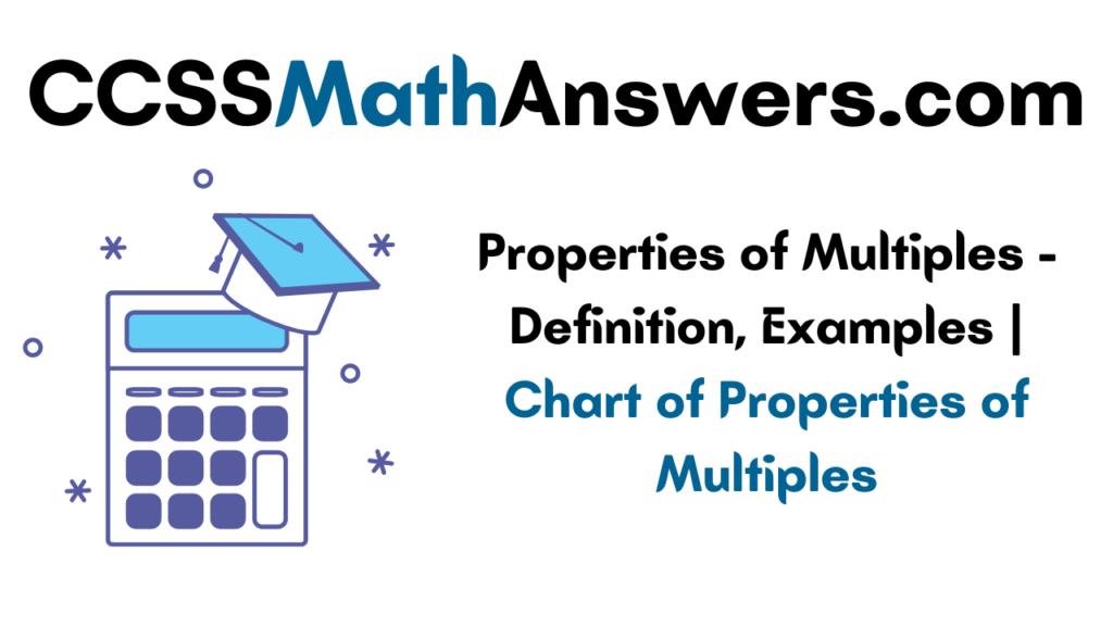 Properties of Multiples