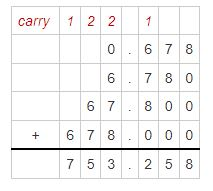 addition of decimals example 8
