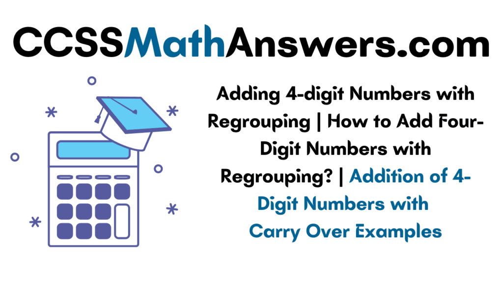 Adding 4-digit Numbers with Regrouping