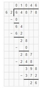 division by two digit divisor example 1