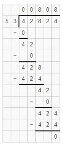 division by two digit divisor example 4