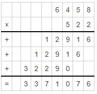 multiplicand and multiplier example 2