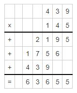multiplicand and multiplier example 3
