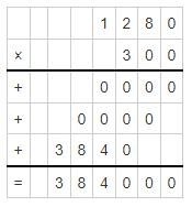 multiplicand and multiplier example 7