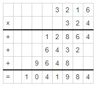 multiplication example 2