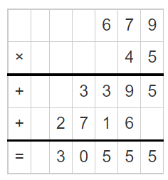 Multiply a Number by a 2-Digit Number 3