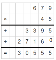 Multiply a Number by a 2-Digit Number 4