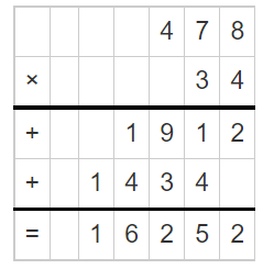 Multiply a Number by a 2-Digit Number 5