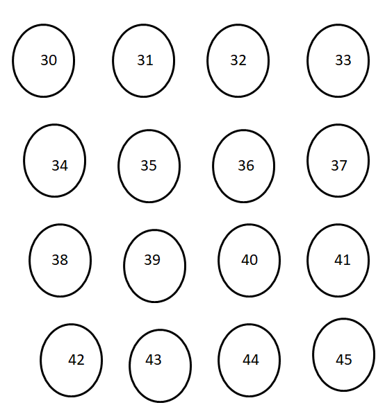 Worksheet on Numbers 1 to 100 3